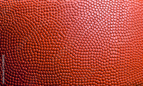 Closed up view of basketball for background - 76388338