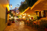 Streets of Plaka in centre of Athens, Greece. - 76388545