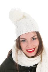 Portrait winter girl