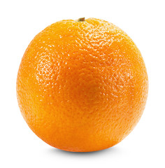 Orange isolated on the white background