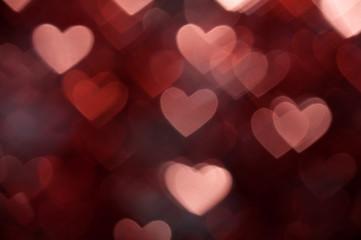 dark brown heart shape holiday background