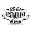 retro restaurant poster - 76391109
