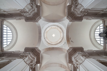 Ceiling in the Rector's palace in Dubrovnik, Croatia.