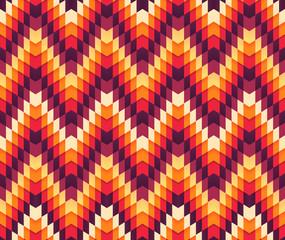 Serrated pattern