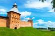 The Kremlin walls in Veliky Novgorod