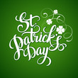 St. Patrick's Day greeting. Vector illustration