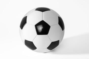 Soccer ball black and white