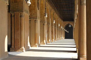 Arcaded corridors