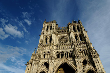 The cathedral of Amiens - UNESCO World Heritage Site