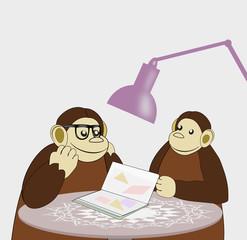 Reading Monkeys