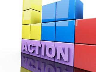 Action 3D Concept