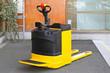 Leinwandbild Motiv Electric pedestrian truck