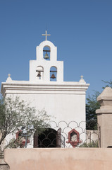 San Xavier del Bac the Spanish Catholic Mission Tucson Arizona.