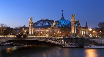 Pont Alexandre 3 et Grand Palais