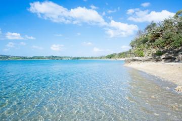 沖縄のビーチ・薮地島・ジャネーガマ隣の海岸