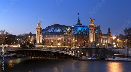 Papiers peints Paris Pont Alexandre 3 et Grand Palais