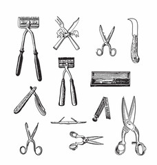 Vintage cutting tools