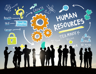 Human Resources Employment Teamwork Business People Concept