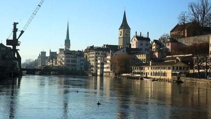 Zurich in Switzerland, Europe.