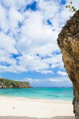 沖縄のビーチ・ウクの浜
