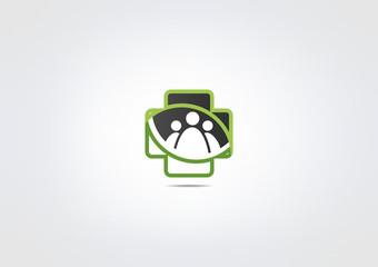 Pharmacy Icon Medicine Logo Partner clinic symbol