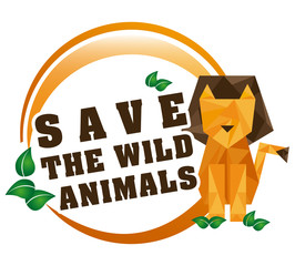 save the animals design