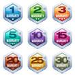 Warranty Seal Metal Badge - 76401992