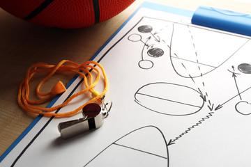 Scheme basketball game