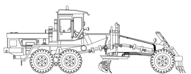 grader technical draw