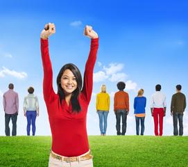 Diversity Ethnic Ethnicity Variation Unity Togetherness Concept