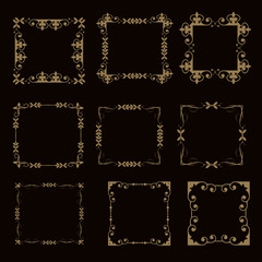 Calligraphic Design Elements, Frames
