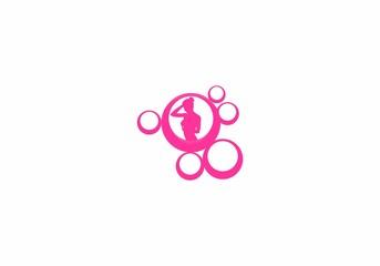 Sexy Body Beauty Logo Vector