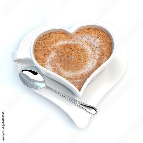 Papiers peints Buffet, Bar Romantic coffee