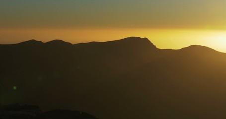 4K, Sunrise at Roque De Las Muchachos, La Palma