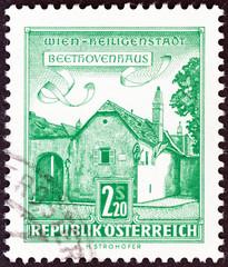 Beethoven's House, Heiligenstadt, Vienna (Austria 1962)