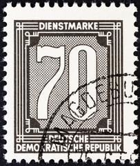 Numeric value stamp (German Democratic Republic 1956)