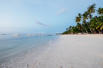 Tropical beach in Philippines