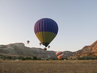 Balloons flight in Cappadocia Turkey