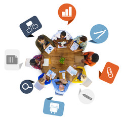 Brainstorming Discussing Planning Teamwork Variation Diverse Eth