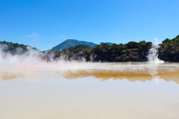 geothermal area in new zealand
