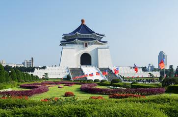 Chiang Kai-Shek Memorial Hall in Taipei - Taiwan