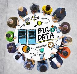 Diversity People Big Data Communication Digital Devices Concept