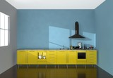 Modular kitchen poster
