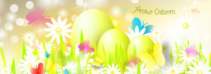 Osterei Nest Banner