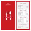 Special Valentine design template Cafe restuarant Menu - 76407386