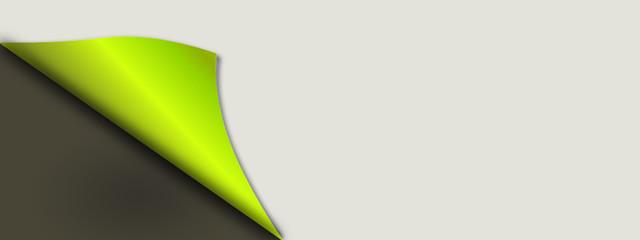 Ecke Grün Papier Ostern Hintergrund