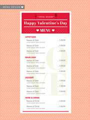 Cafe restuarant Menu design template