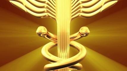 Caduceus 3D animation