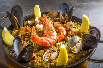 食べ物 スペイン料理 パエリア
