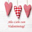 Leinwandbild Motiv Valentinstag
